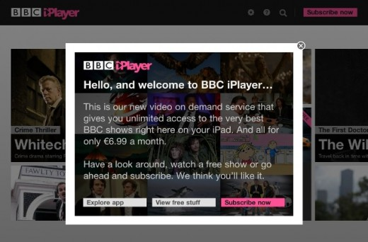 iPlayer 520x342 BBC iPlayer hits iPads in Canada, offers free content each day til Christmas