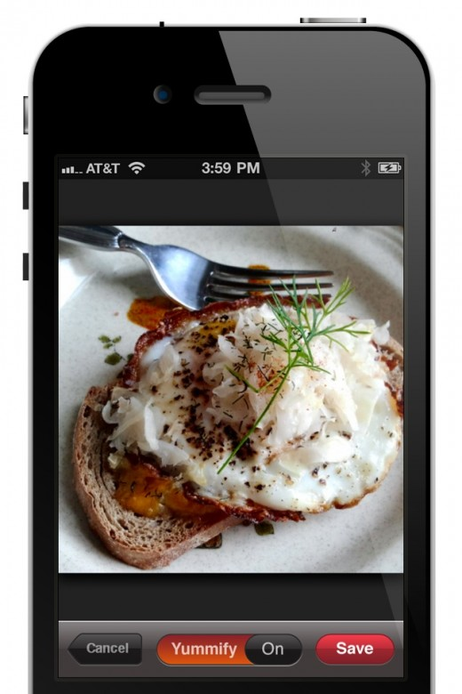 iphoneapp screenshots photo 520x780 Foodily launches its yummy iPhone app stuffed with Facebook goodness