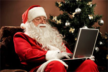 lolsanta Working during the holidays? Youre not alone [Infographic]
