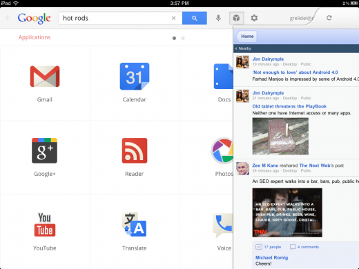 photo 27 520x390 Google just used its Search app to sneak most of Chrome OS onto the iPad