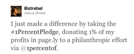 pledge 520x212 1% of Nothing asks startups to pledge 1% ownership of company to social good
