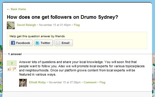 question from sydney Drumo is your hyper local guide to Asia Pacifics biggest cities