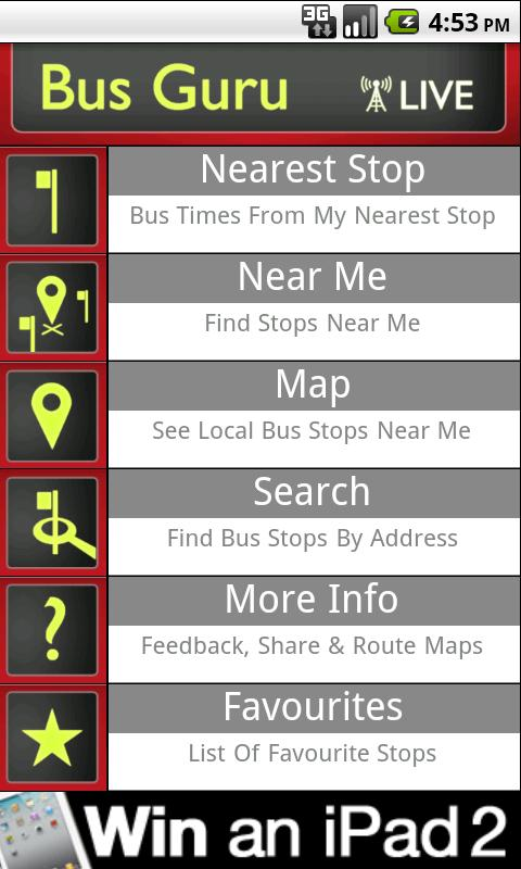 ss 480 0 0 Bus Guru: This mobile app gives you live bus times and optimum routes in London