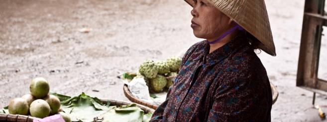 vietnam market lady
