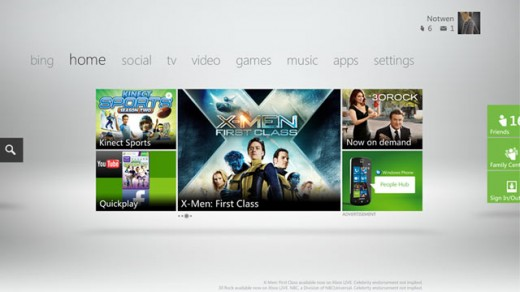 0909 xbox 640 520x292 Microsofts new Xbox 360 update hits tomorrow. Heres what to expect.