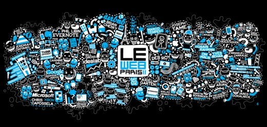 6480824857 cc9e8ee028 b 520x249 Data Visualization: Day 2 of LeWeb
