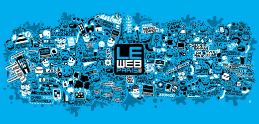 6480825333 6d6edfa71e b 520x249 Data Visualization: Day 2 of LeWeb