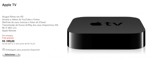 Apple TV 520x205 Apple TV is now available in Brazil