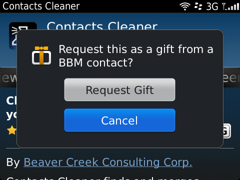 BlackBerry gift Now BlackBerry users can send gifts via BBM...just in time for Christmas