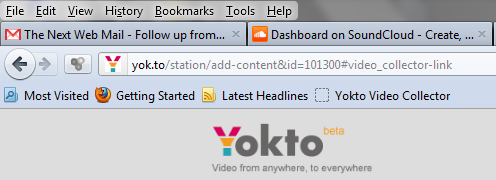 ButtonOnFavoriesBar Yokto brings its video collation tool to Facebook, launches browser bookmarklet too