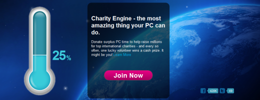 CENGINE 520x201 Charity Engine: Donate spare PC power and stand a chance to win a $1m [Invites]