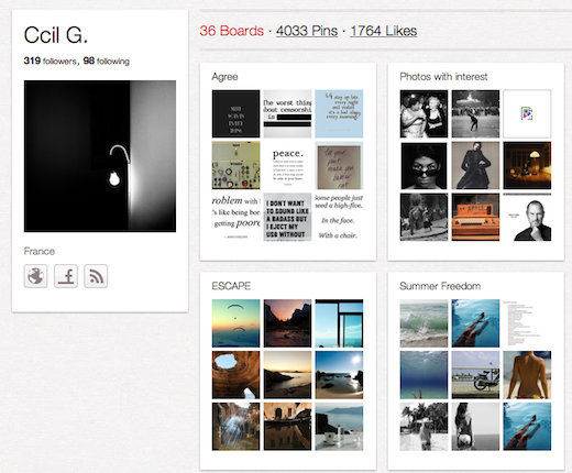 CcilG 10 cool Pinterest accounts you should be following