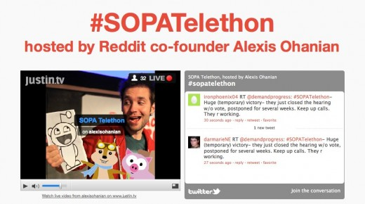 Fight For The Future 520x290 Reddit Co Founder hosting Stop Online Piracy Act telethon