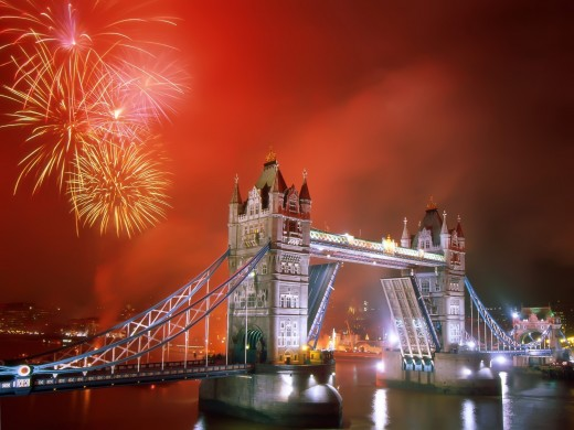 London England 520x390 The Best Places in the World to be on New Years Eve