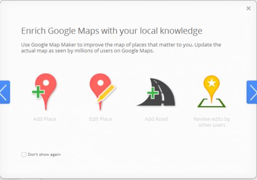MapMaker2 520x365 New Google Map Maker seeks to make mapping easier