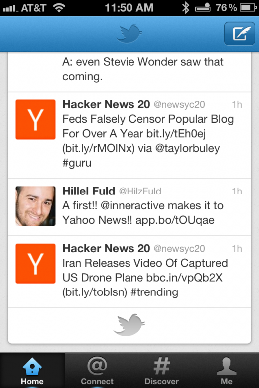 Photo Dec 08 11 50 44 AM1 520x780 A walkthrough of the new Twitter 4.0 app for iPhone [Screenshots and Video]
