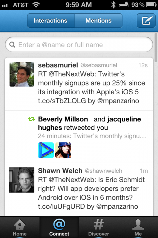 Photo Dec 08 9 59 53 AM 520x780 A walkthrough of the new Twitter 4.0 app for iPhone [Screenshots and Video]