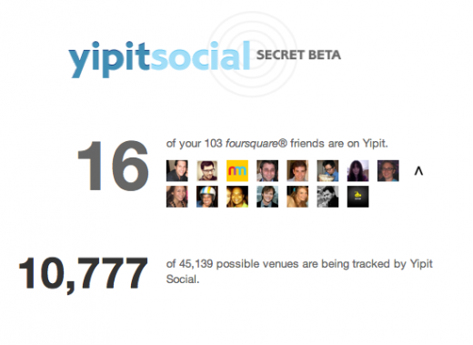 Screen shot 2011 12 02 at 11.38.02 AM 520x379 Yipit secretly tests its new Foursquare integration, Yipit Social