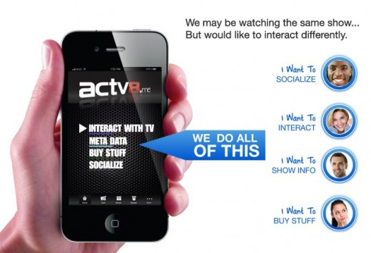 TV My Way ACTV8.me Global Media Technology Platform 520x355 Survivor producer Mark Burnett to try his hand at social TV with ACTV8