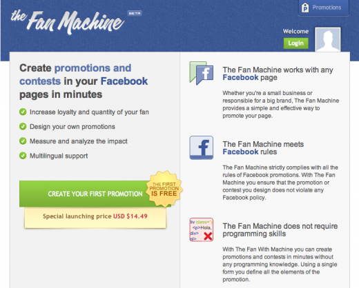 The Fan Machine 520x418 The Fan Machine wants to boost Latin American Facebook pages