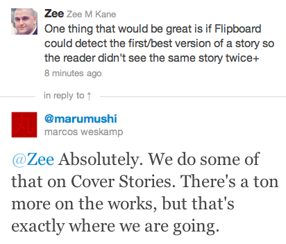 Tweet Flipboard The future of Flipboard: A curated magazine of your favorite topics