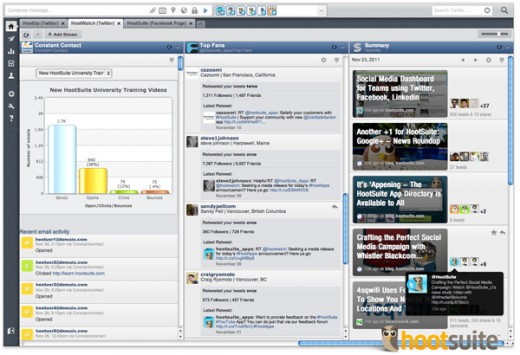 app directory V2 520x355 HootSuite adds support for Constant Contact, Summify and Formulists