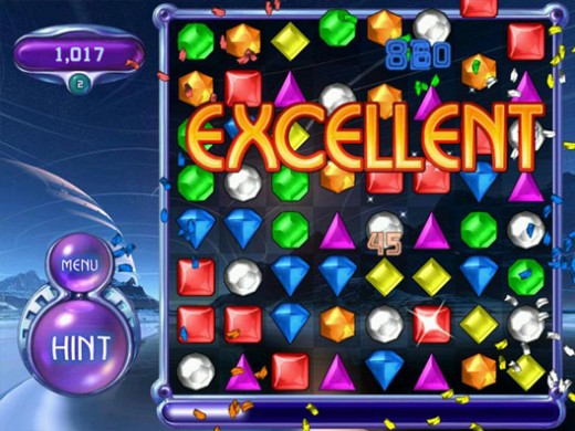 bejeweled21 520x390 PopCap brings Bejeweled to Chrome, Plants vs. Zombies to Android