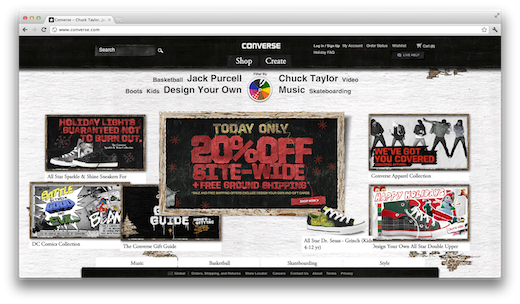 converse 10 of the most beautiful online stores