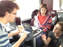 day1 11 StartupBus Europe hits Copenhagen and the teams ideas take shape