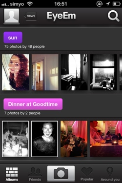 eyeem21 Gorgeous photo sharing app EyeEm updated to bring its strengths into focus