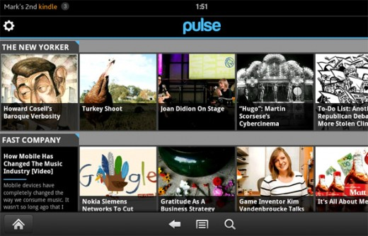 fire apps pulse 520x334 How Pulse landed a pre load spot on the explosive Kindle Fire