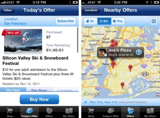google shopper offers iphone1 520x384 Google Shopper for iOS gets local deals with new Google Offers integration