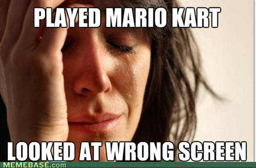 internet memes first world problems mario kart 2011: The 5 Top Memes
