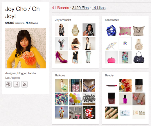 joy 10 cool Pinterest accounts you should be following