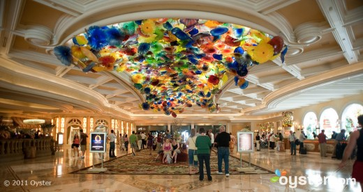 lobby bellagio v209795 w902 520x276 The Best Places in the World to be on New Years Eve