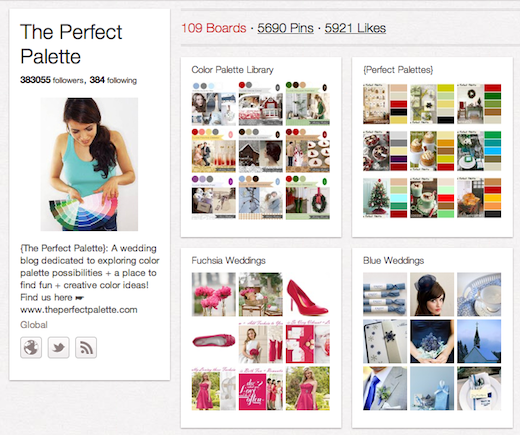 perfectpallete 10 cool Pinterest accounts you should be following