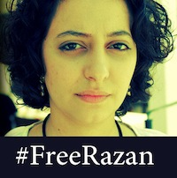 razan Yesterdays arrest of Syrian blogger Razan Ghazzawi sparks online search