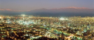 santiago-chile-downtown-night-lights