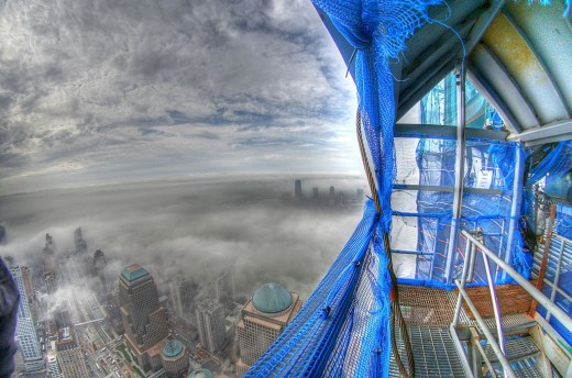 wtcprogress 520x344 Check out this stunning picture taken from the World Trade Center