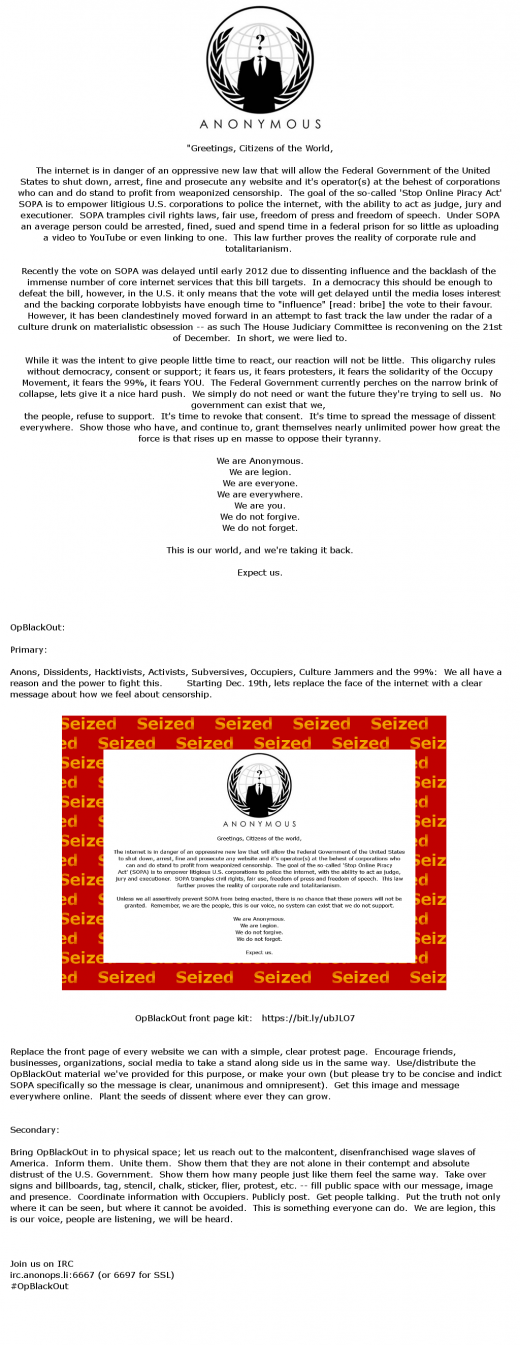 xtjag 520x1345 Anonymous Responds to SOPA: Well Deface The Internet In Protest