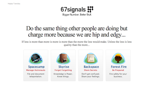 67 This site mocks 37 Signals after it attacked a YC startup for stealing code