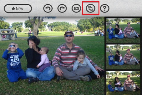 GroupShot Swap This $0.99 iPhone app magically combines group photos to give you the perfect shot