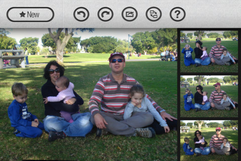 Groupshot3 This $0.99 iPhone app magically combines group photos to give you the perfect shot