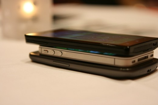 IMG 6939 520x346 First hands on with the Lenovo K800 running Intels Medfield [Video]