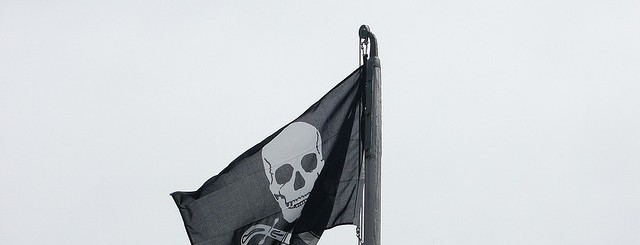Pirate flag by Olivier Bruchez