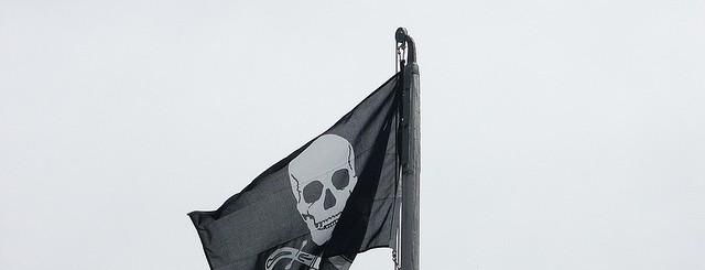 Pirate flag by Olivier Bruchez