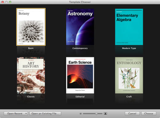 Screen Shot 2012 01 19 at 11.33.24 AM 520x385 A first look at Apples new iBooks Author
