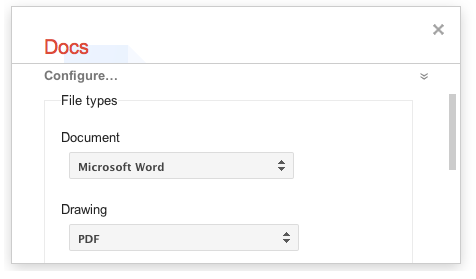 Takeout docs Google updates export tool Takeout to support Google Docs