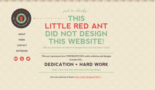 Tinybigstudio Web crafting Brand design 9 Excellent examples of scrolling websites for designers