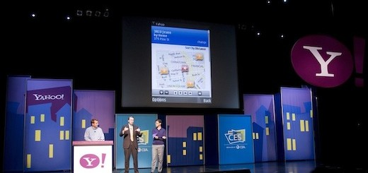 Yahoo on stage by Yodel Anecdotal/Yahoo! Inc. (cropped)